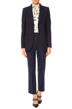 Pleat-front trousers od Victoria Victoria Beckham