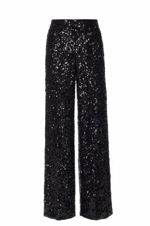 Sequinned trousers od Victoria Victoria Beckham