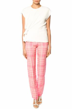 Checked trousers od Victoria Beckham