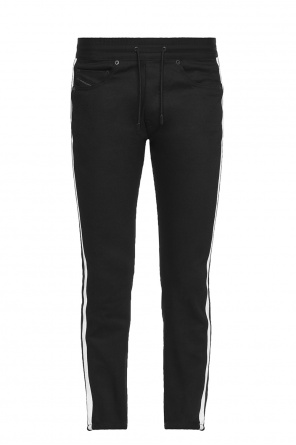 Side-stripe jeans od Diesel Black Gold