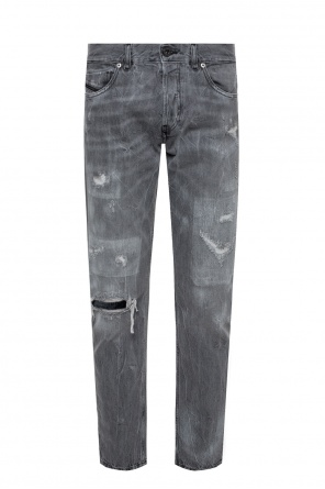 'type-2813' raw-edge jeans od Diesel Black Gold