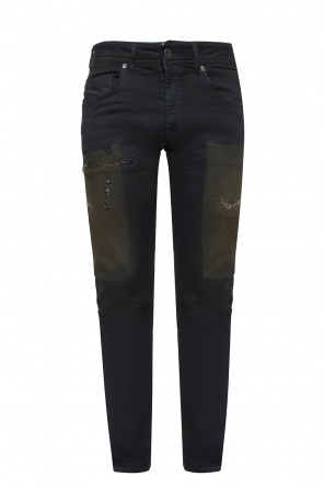 Jeans with stitching od Diesel Black Gold