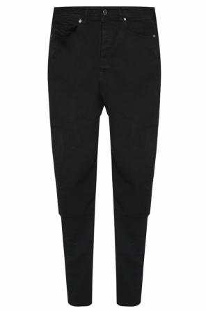 'type-2840' jeans with elastic cuffs od Diesel Black Gold