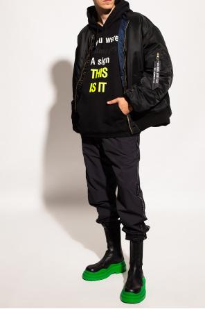 Sweatpants with logo od VETEMENTS
