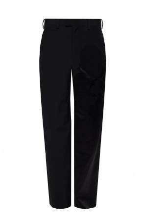 Pleat-front trousers od Undercover