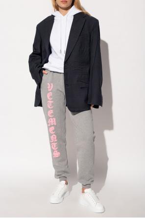 Spodnie dresowe od VETEMENTS