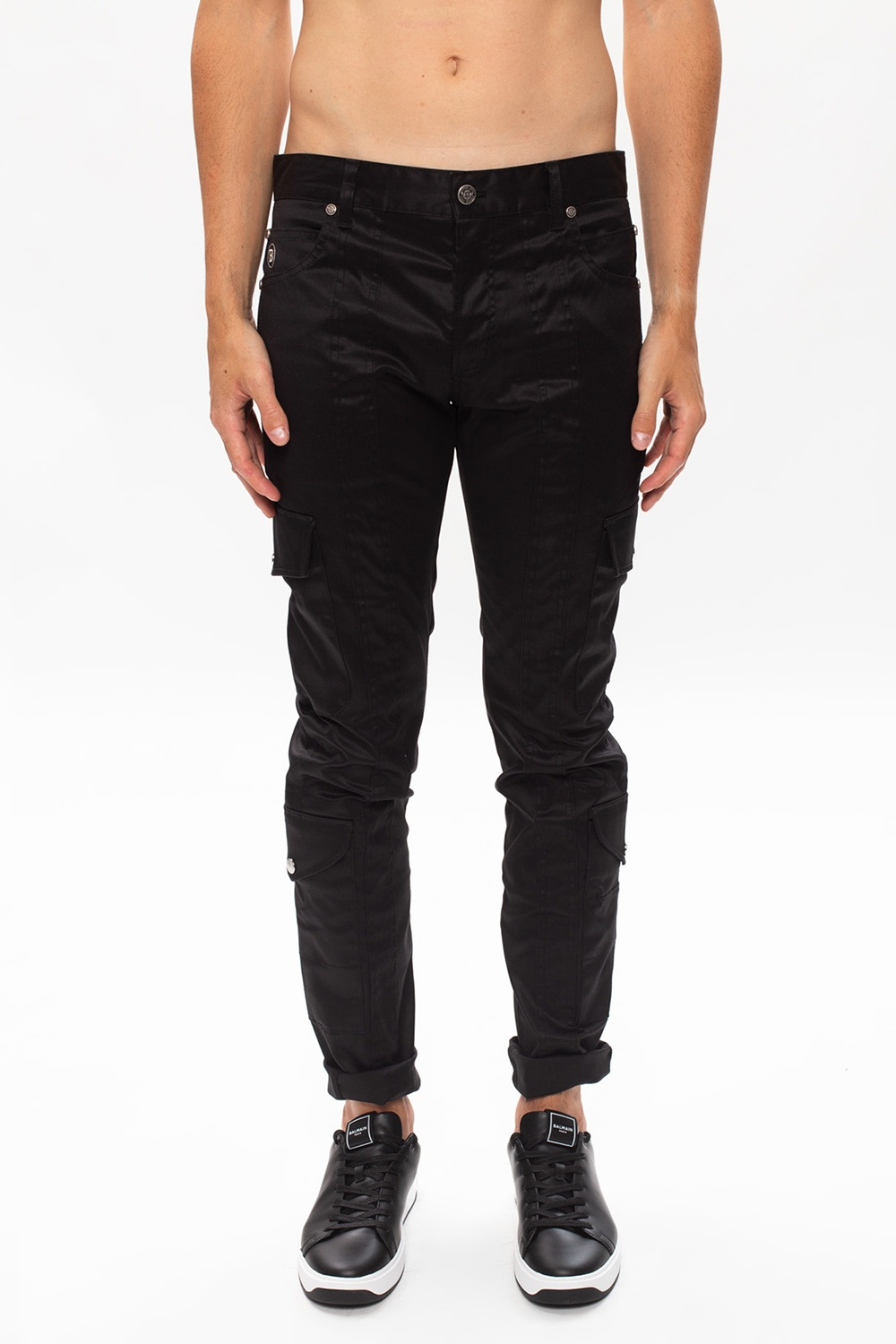 Balmain Trousers with logo
