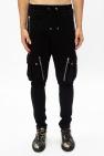 Balmain Spodnie dresowe z kieszeniami