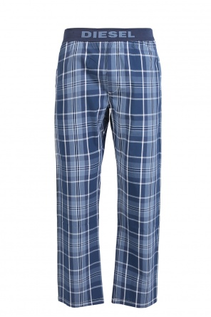Checked pyjama bottom od Diesel