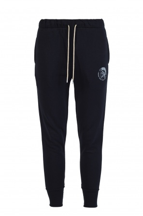 Logo-printed sweatpants od Diesel