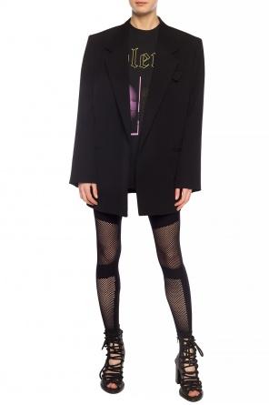 Sheer trim leggings od Unravel Project