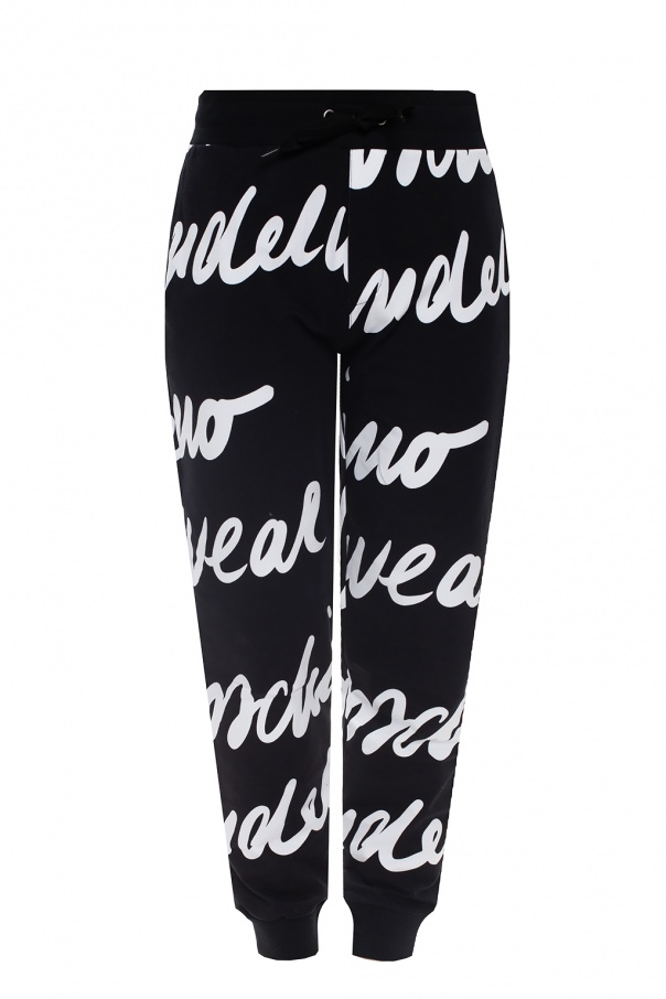 Moschino Sweatpants with logo