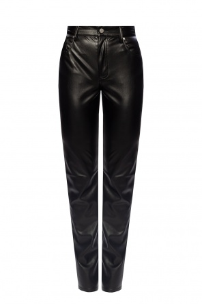 Vegan leather trousers od MISBHV