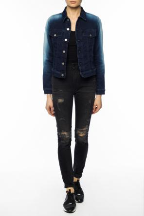 Shaded denim jacket od Diesel
