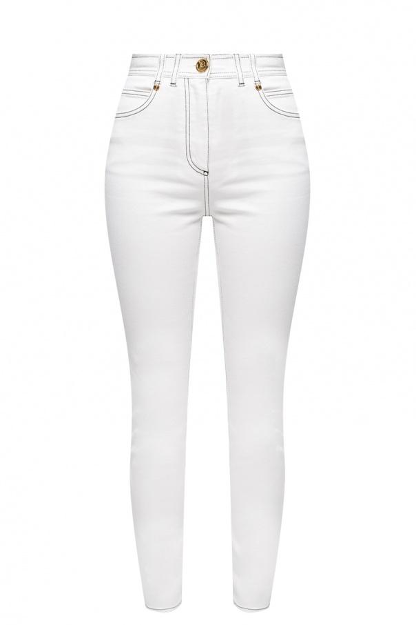 Balmain High-waisted jeans