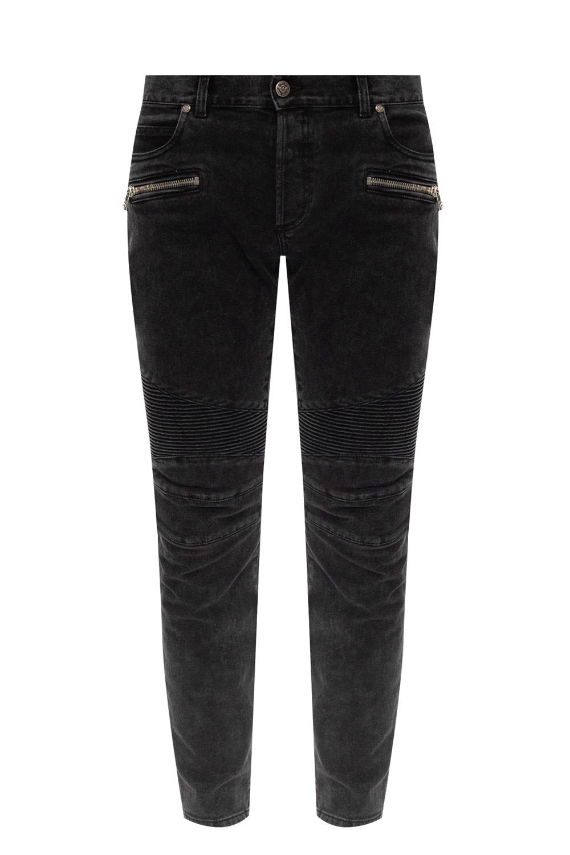 Balmain Tapered leg jeans