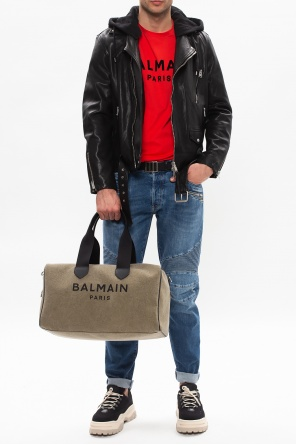 Raw edge jeans od Balmain