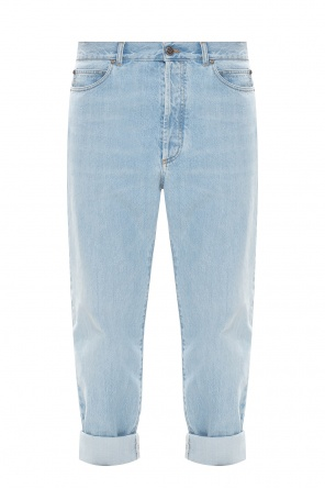 Distressed jeans od Balmain