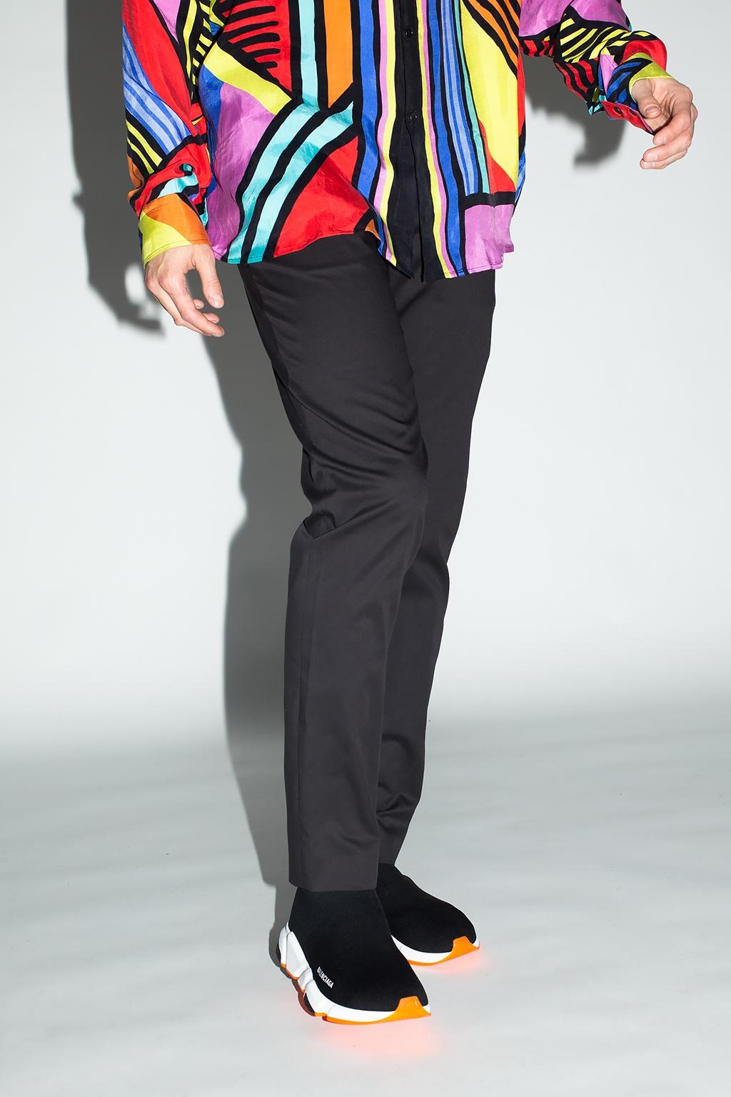 Balmain Trousers with logo