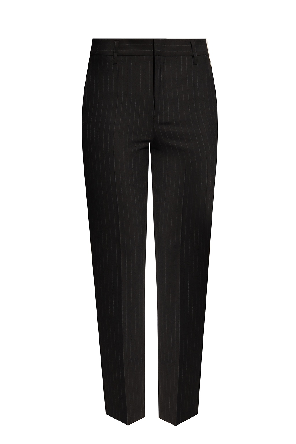 Red Valentino Patterned pleat-front trousers