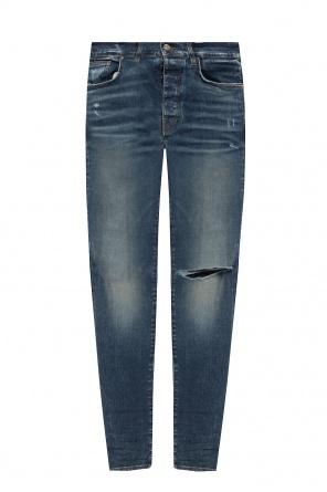 Jeans with logo od Amiri