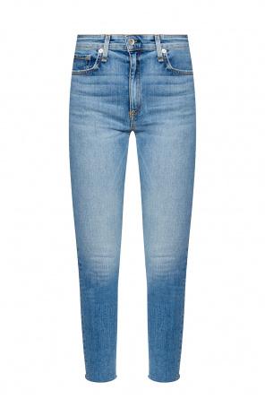 High-waisted skinny jeans od Rag & Bone