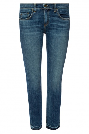 Jeans with raw hems od Rag & Bone