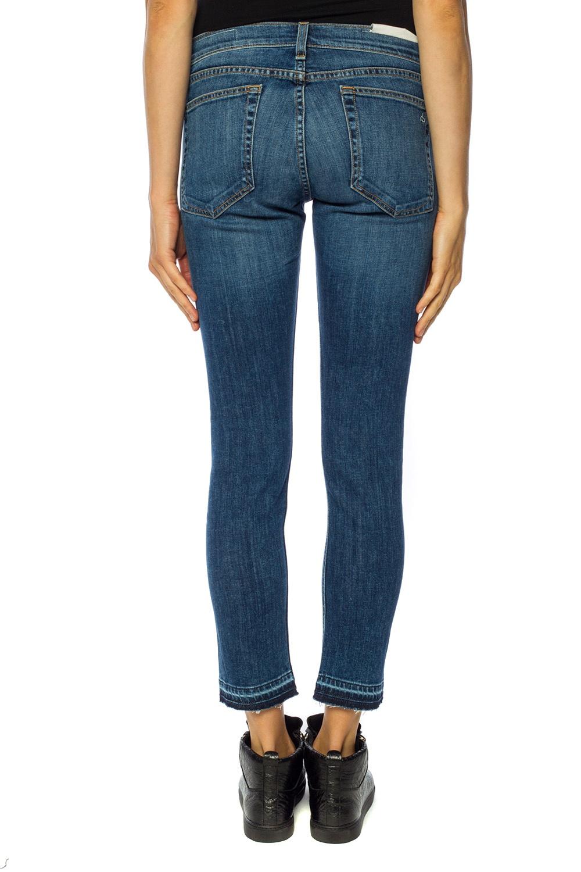 Rag & Bone  Jeans with raw hems