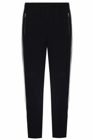 Side-stripe pleat-front trousers od Rag & Bone