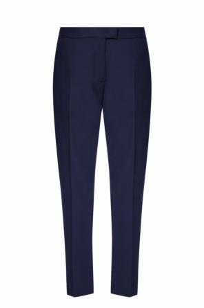 Pleat-front wool trousers od Paul Smith