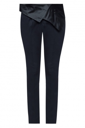 Silk-trim trousers od Balmain