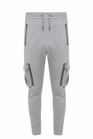 Sweatpants with several pockets od Balmain