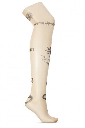 Printed pantyhose od Vetements