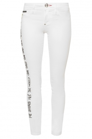 Embroidered trousers od Philipp Plein