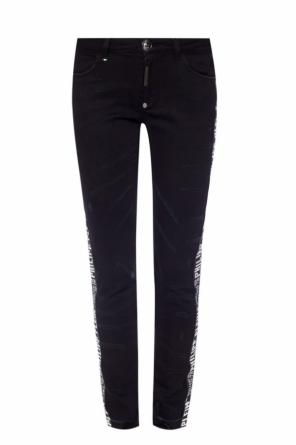 Logo-patched jeans od Philipp Plein