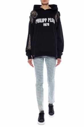 Jeans with logo pattern od Philipp Plein