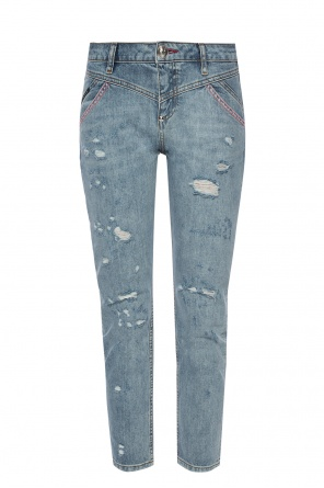 Jeans with decorative stitching od Philipp Plein
