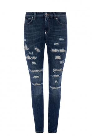 Distressed jeans od Philipp Plein