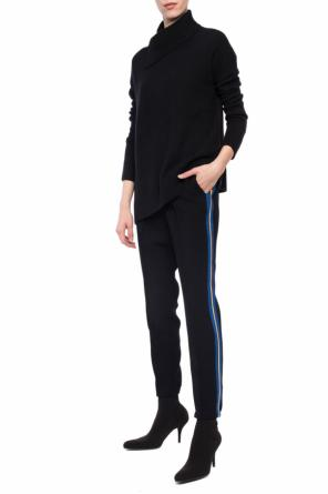 Side-stripe pleat-front trousers od Zadig & Voltaire