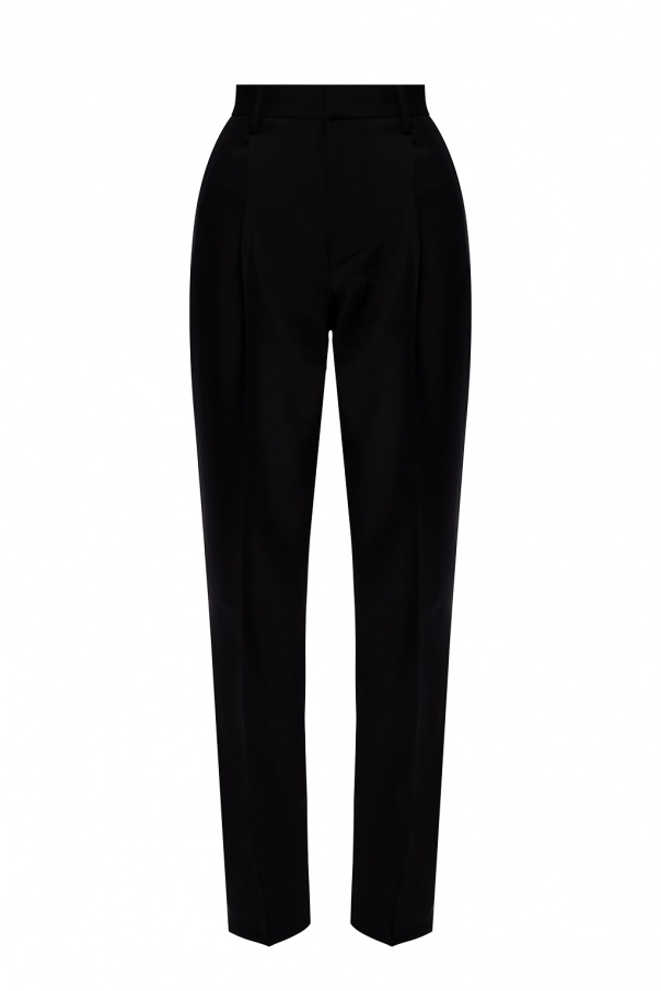 Zadig & Voltaire Pleat-front wool trousers