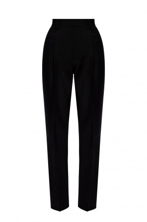 Pleat-front wool trousers od Zadig & Voltaire