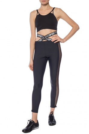 Leggings with elastic bands od Plein Sport