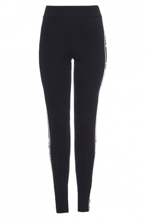 Leggings with logo stripes od Philipp Plein