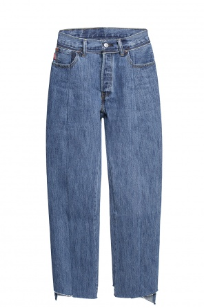 High-waisted jeans od Vetements