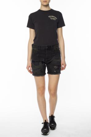 Distressed denim shorts od Faith Connexion