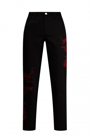 'year of the dragon' trousers od MISBHV