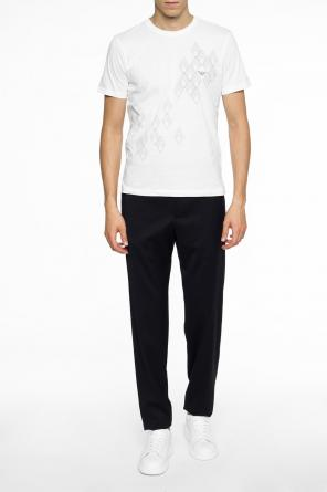 Tapered leg trousers od Emporio Armani