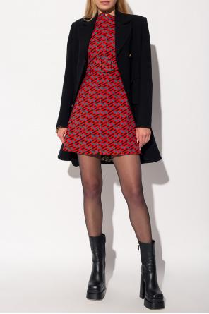 Dress with logo od Versace