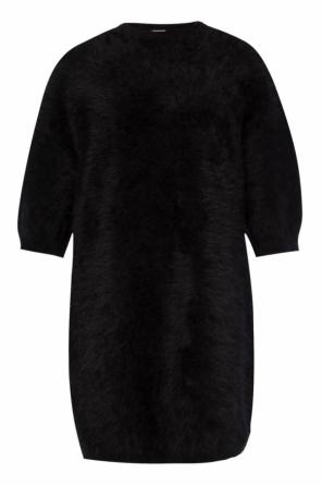 Fur dress od Balmain