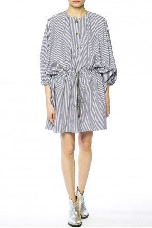 Asymmetrical striped dress od Vivienne Westwood